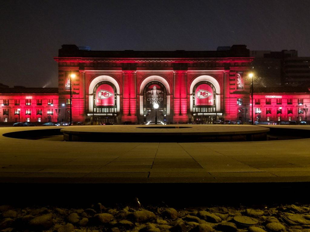 Union Station in Chief's red
